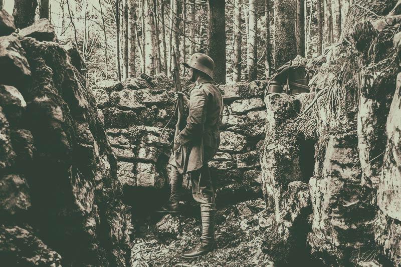 Escursione letteraria  nei luoghi della Grande Guerra
