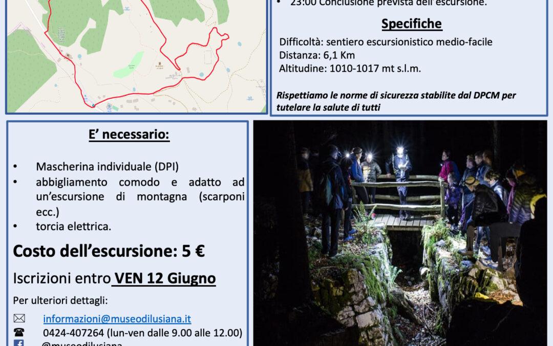 """Escursione notturna """"Alleati sull'Altopiano"""""""